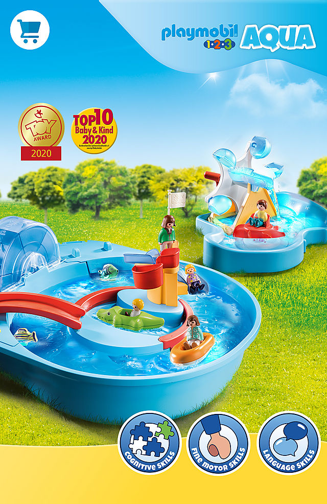 'Playmobil Aqua fun learning with the Summer Toy winner 2021