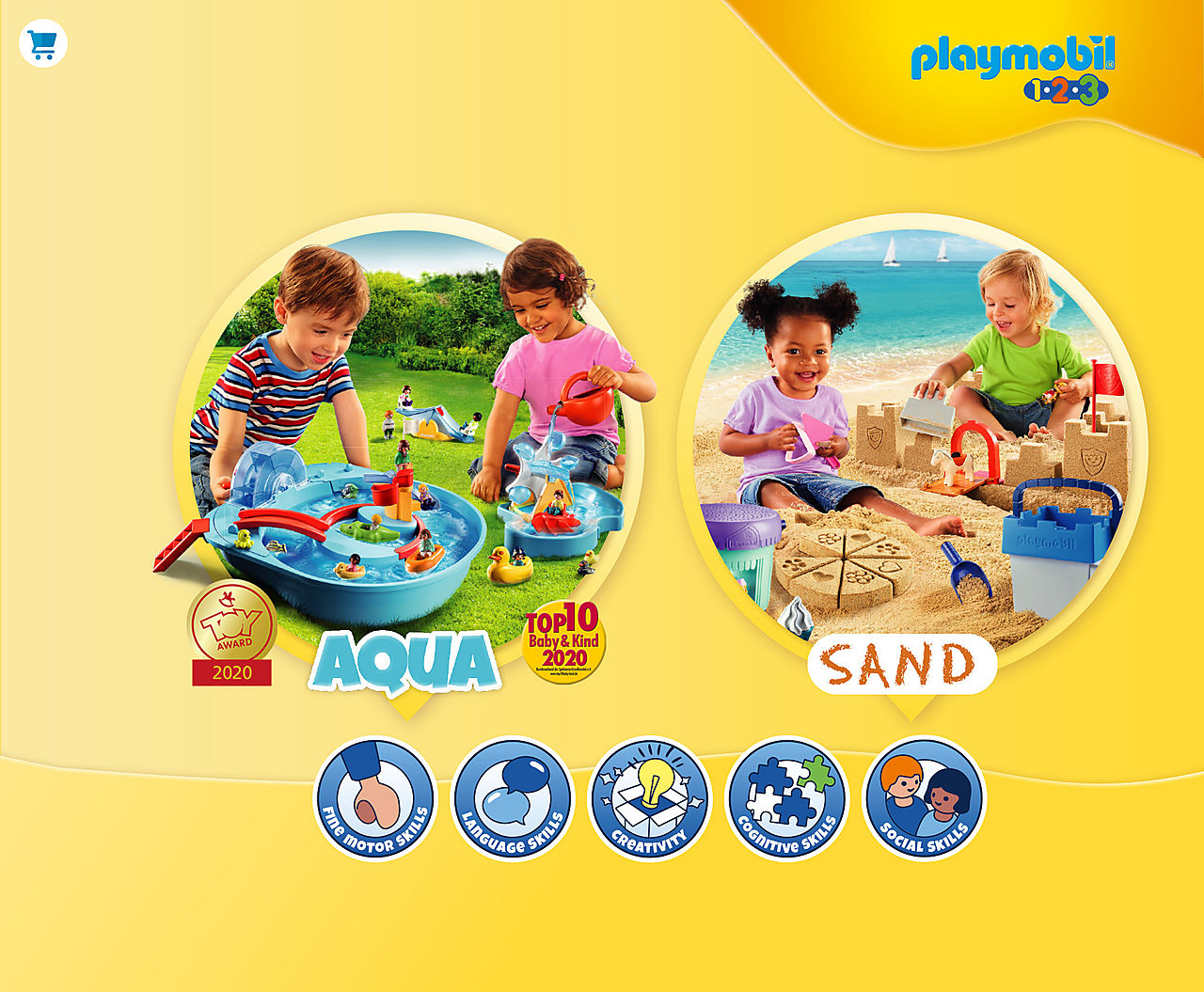 'find out about the new Playmobil Aqua and Sand award-winning playsets
