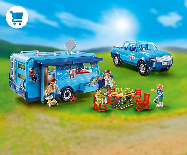 Pickup with Caravan 9502