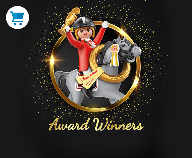 discover the Playmobil Award winners like 70179 My First Train Set or 9487 Mars Space Station or 70441 RC Crane with Building Section