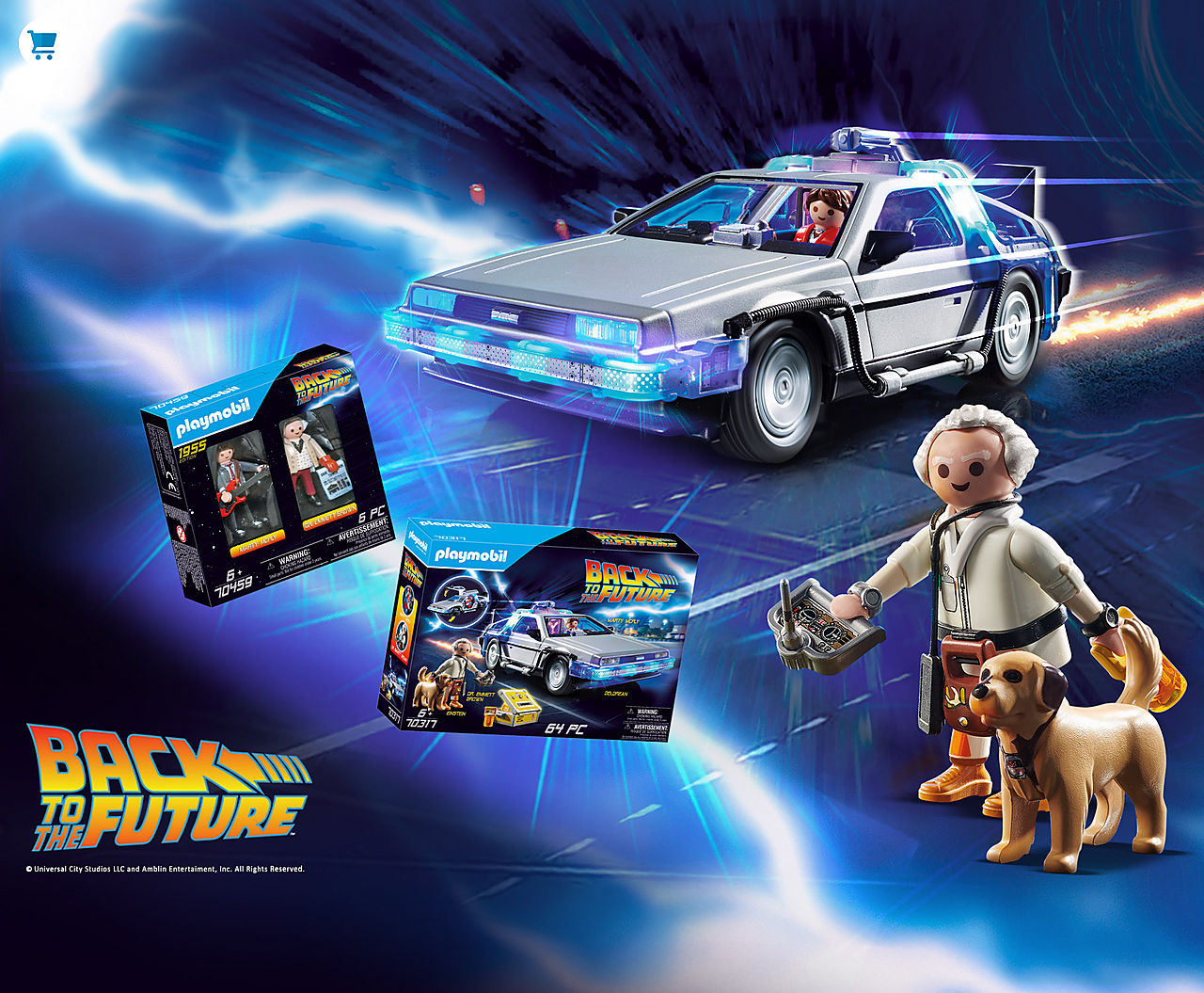 NEW an now available   Going Back to the Future with new playsets