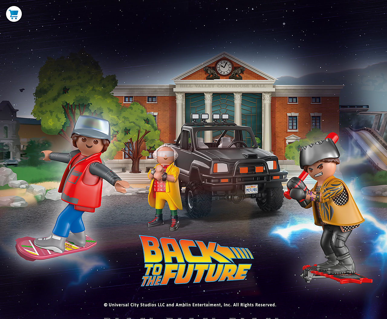 PLAYMOBIL Back to the Future