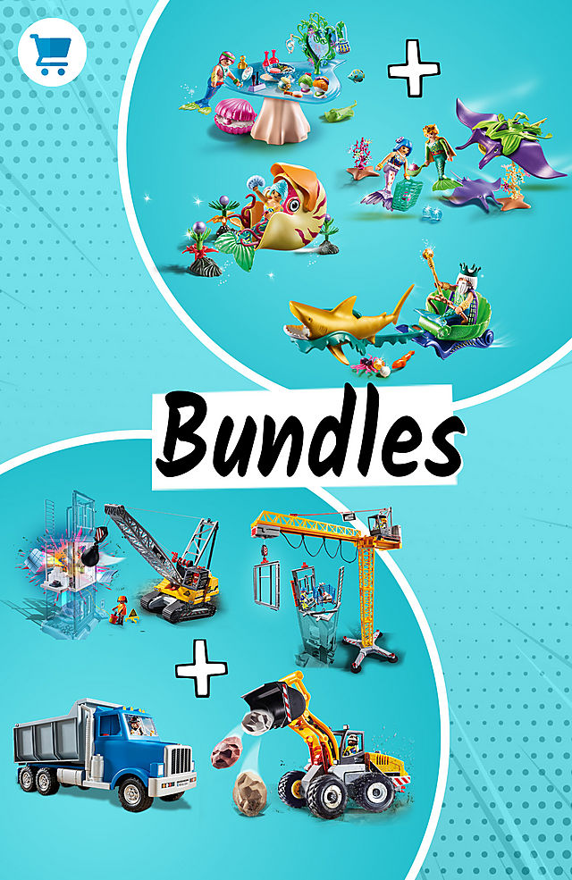 Discover and save on many bundles like the Mermaids Bundle for only $69.99 instead $97.96