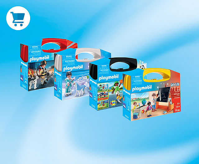 Dive into the world of PLAYMOBIL with Starter Packs the perfect introductory sets!