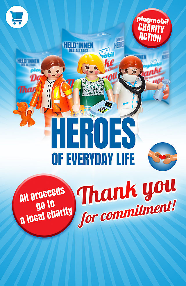 PLAYMOBIL Corona Charity Aktion