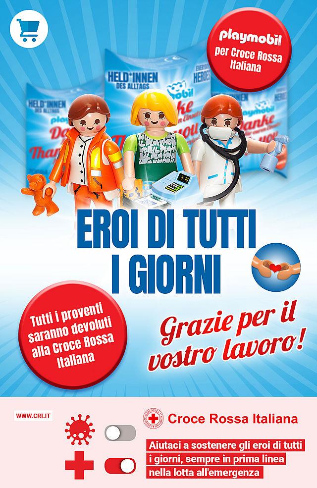 PLAYMOBIL per Croce Rossa Italiana