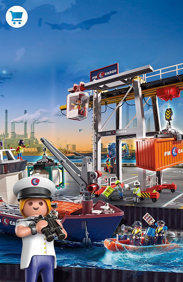 PLAYMOBIL CityAction Cargo