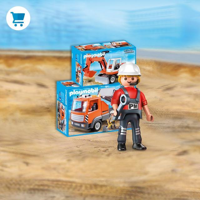 Playmobil jouets boutique officielle france playmobil - Betonniere playmobil ...
