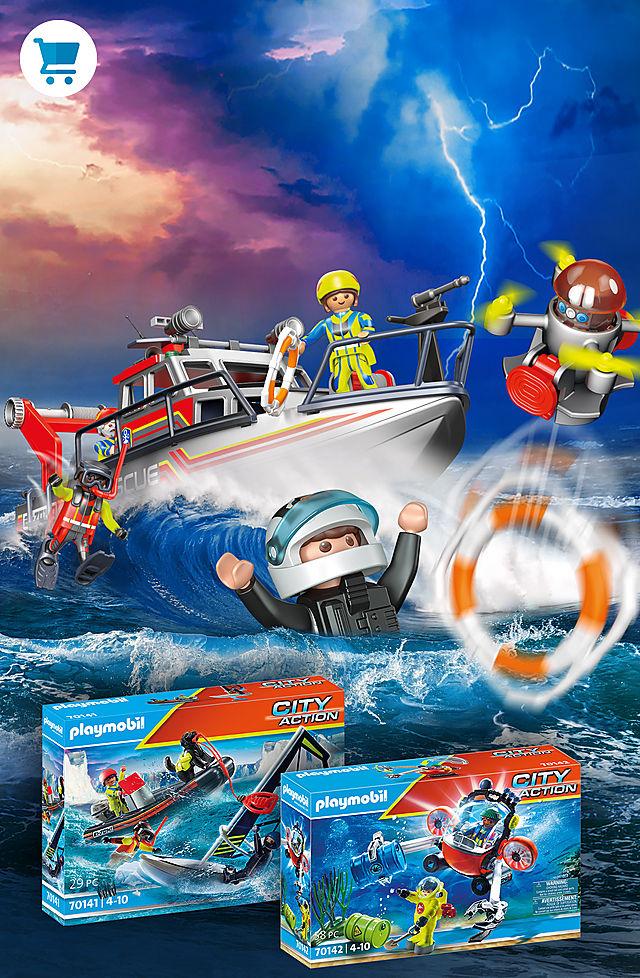 Action de sauvetage en mer!
