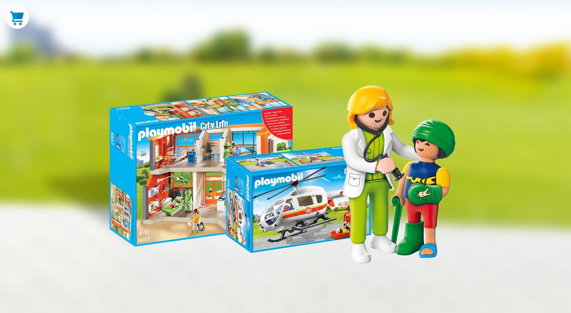 מבצעים על משחק הילדים הנמכר playmobil