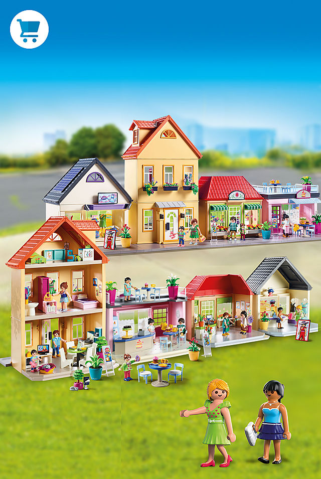 Build your own PLAYMOBIL town with My Town - an all new theme!