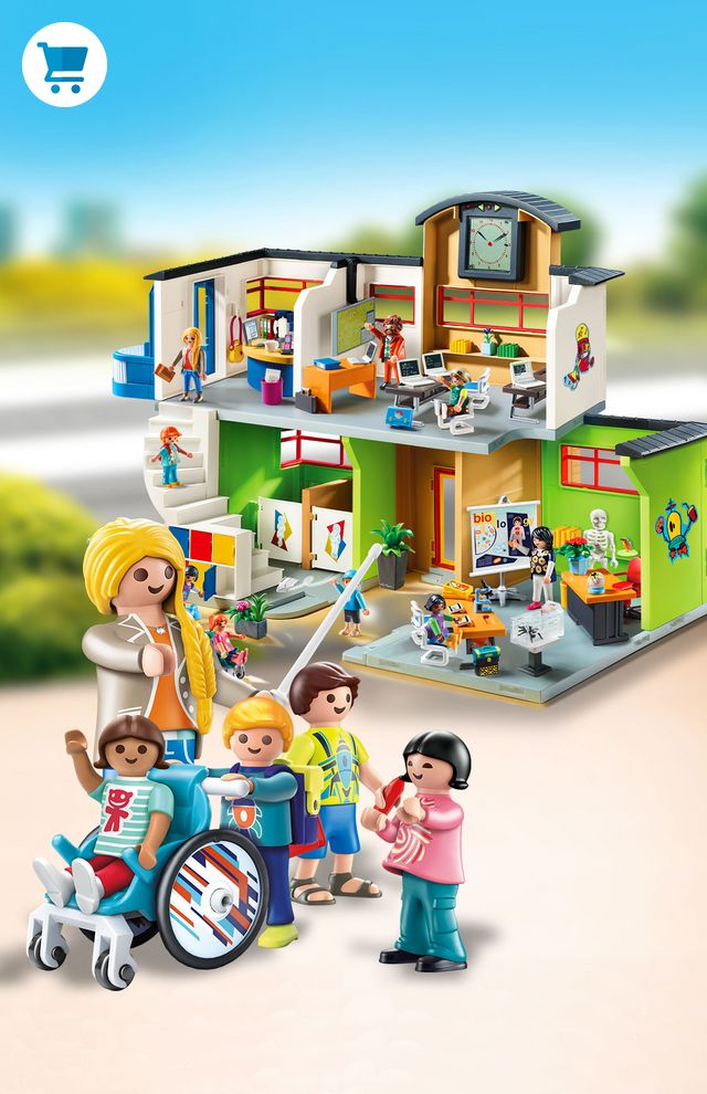 Playmobil RC-6 City Life Woman Figure Holiday School Dollhouse