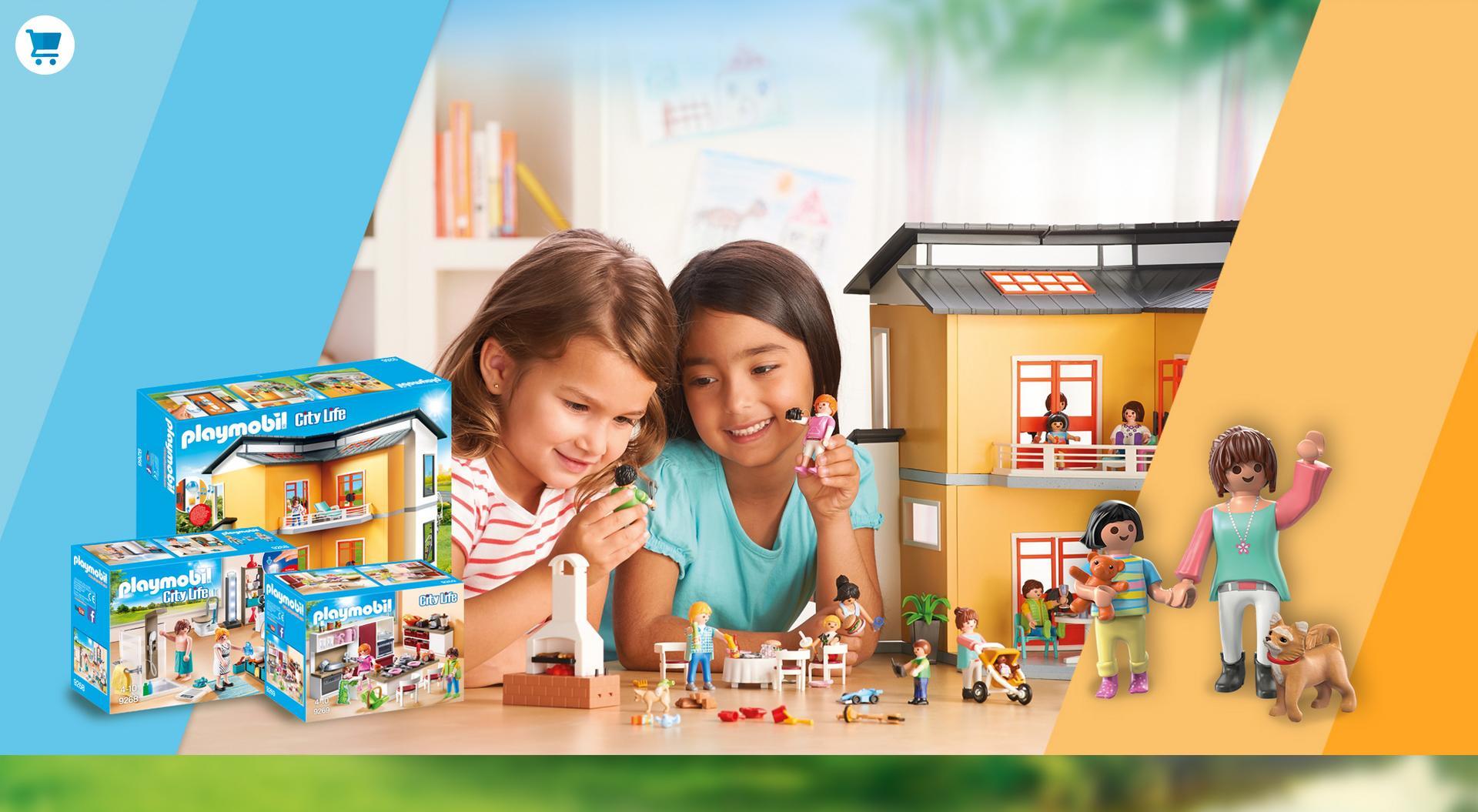 Playmobil jouets boutique officielle france playmobil france - Toute les maison playmobil ...