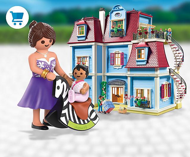 The NEW cozy PLAYMOBIL Dollhouse theme