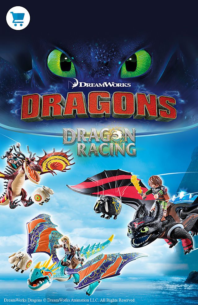 discover the new Playmobil Dragon Racing products like 70727 Dragon Racing: Hiccup and Toothless or 70728 Dragon Racing: Astrid and Stormfly