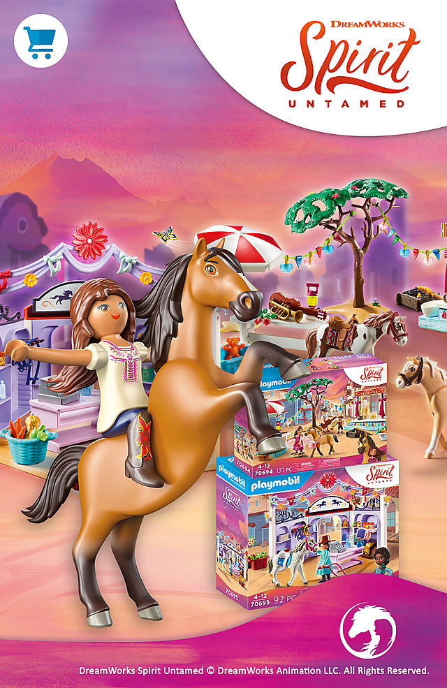 Discover the new adventures Miradero with 70694 Miradero Festival or 70695 Miradero Tack Shop