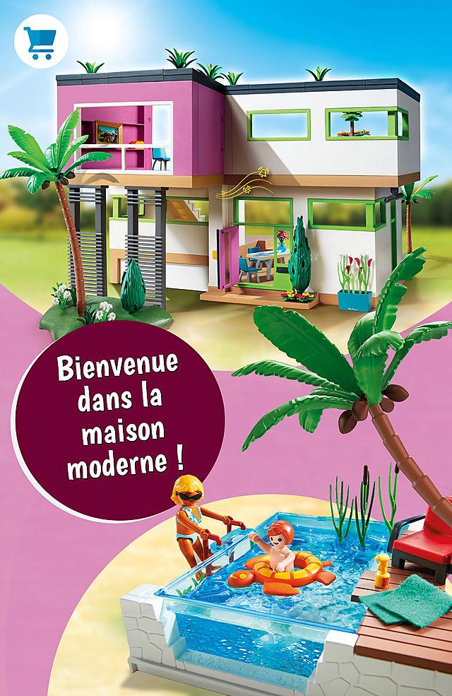 Bienvenue dans la maison moderne !