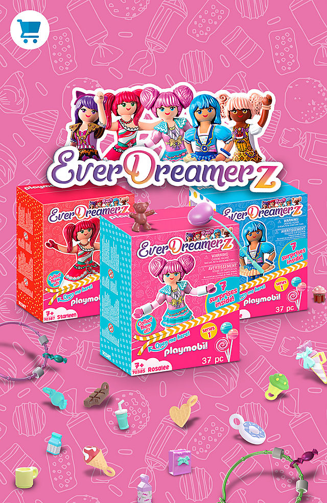Brand New Surprise Sets – Be a part of the PLAYMOBIL EverDreamerz