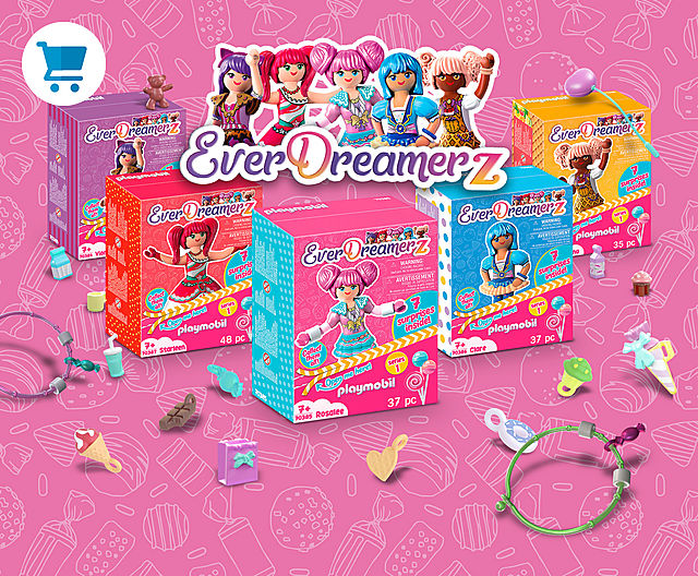 Brand NEW: Be a part of the PLAYMOBIL Everdreamerz