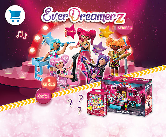 be the best friend of the Everdreamerz and play together with 70580 Viona and her friends and the music world