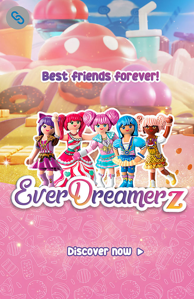 'Be a part of the Playmobil Everdreamerz