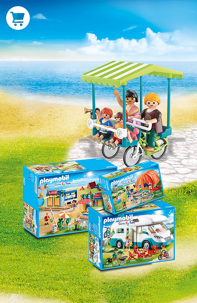 Experience your own adventure with Playmobil and the new Camping play sets - Shop now