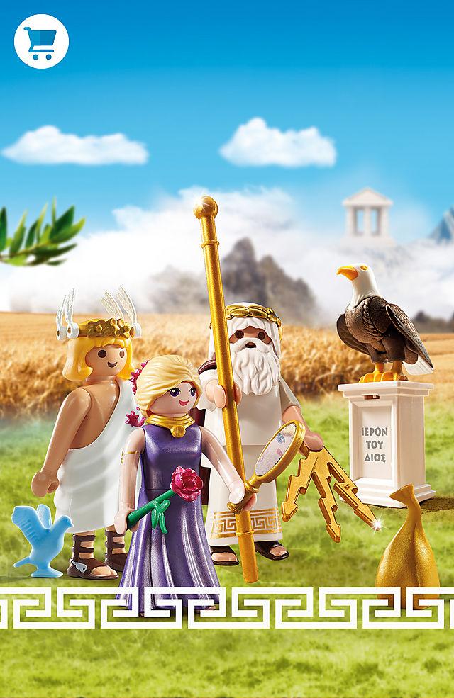 Gli dèi dell'Olimpo di PLAYMOBIL