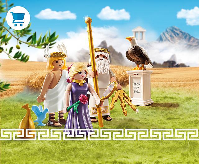 Les dieux grecs PLAYMOBIL !