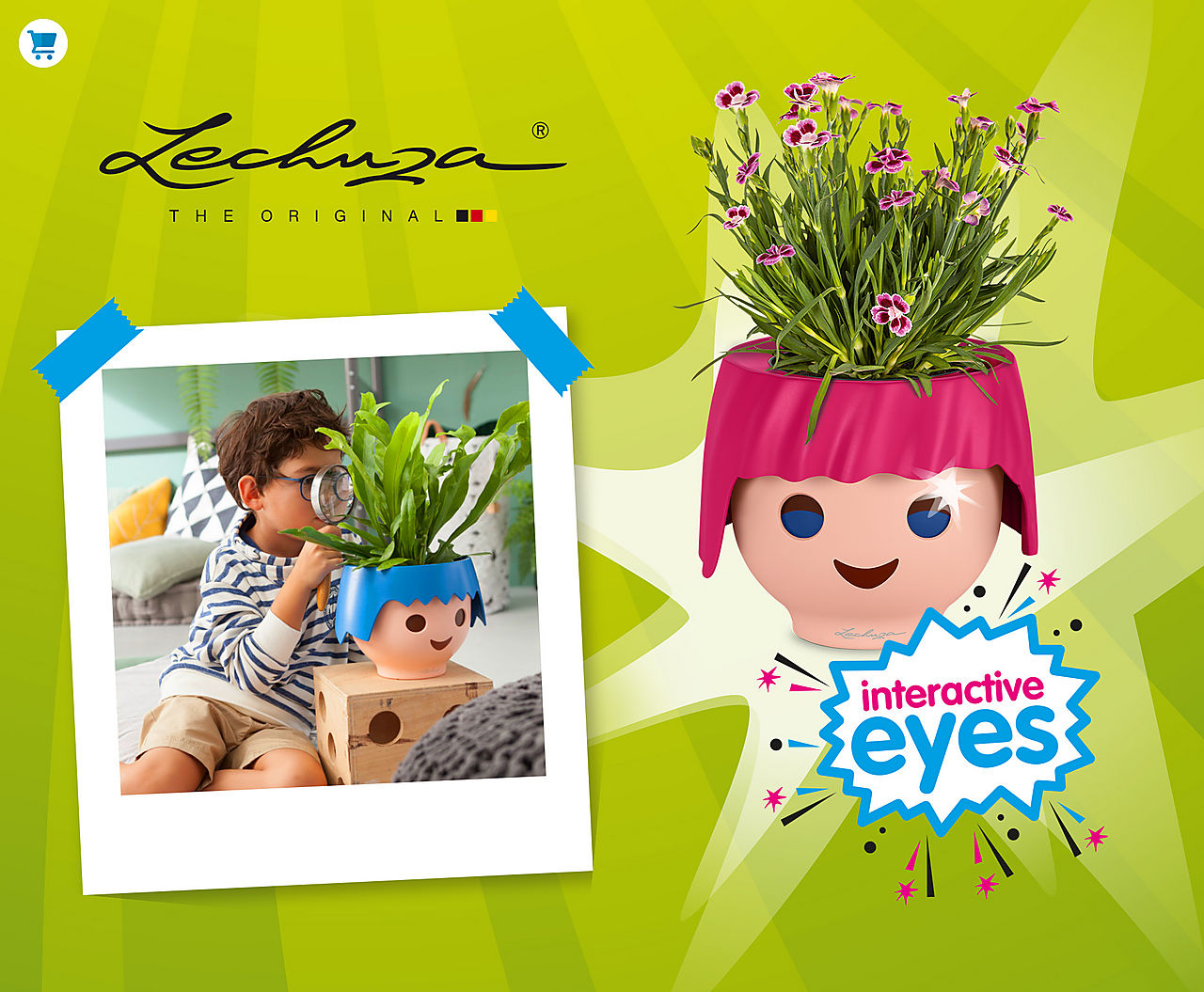 Come and find the combination of Playmobil und Lechuza - The Playmorized OJO