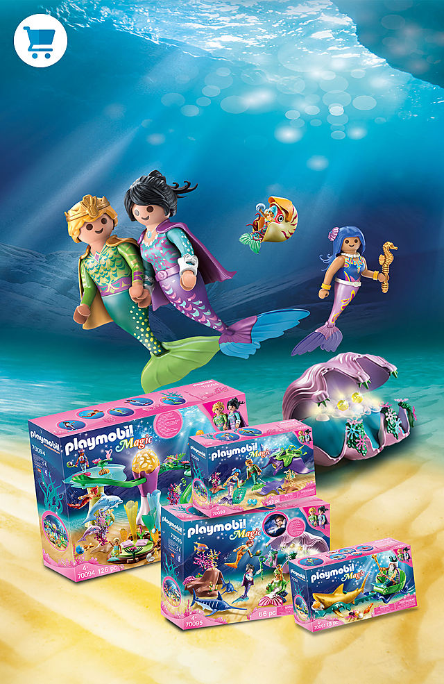 Dive down and discover the new world of Playmobil - Magical Mermaids