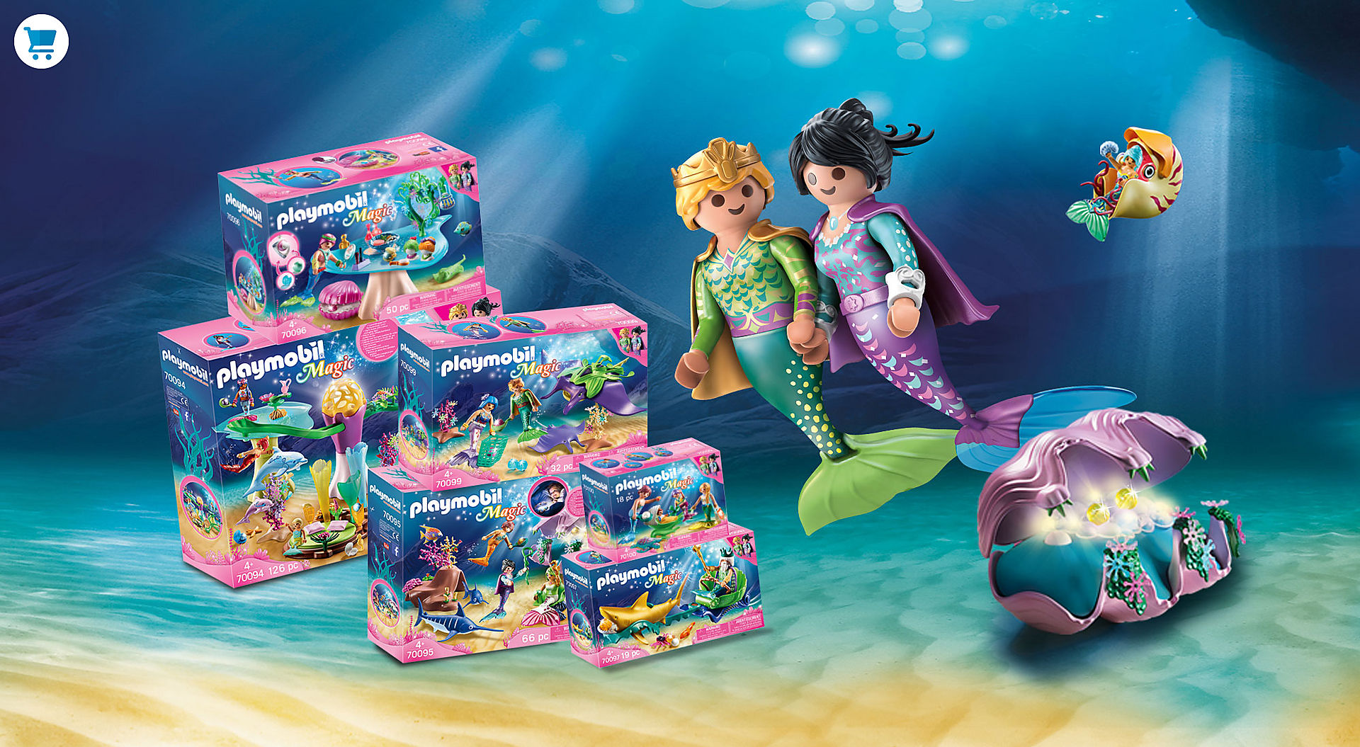 PLAYMOBIL Magic Mermaids