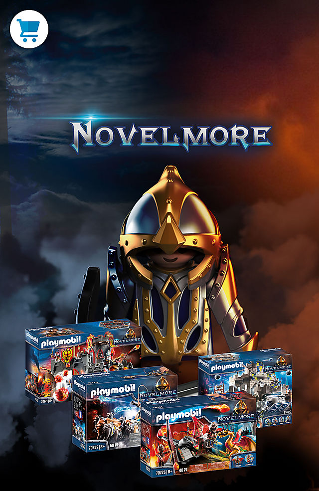 Discover the new mystical world of Playmobil and support the knights of Novelmore in the fight for the Invicibus