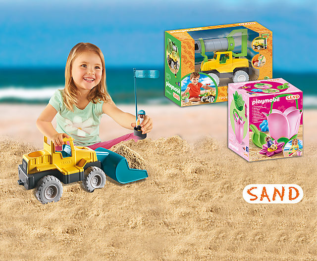 Χτίζουμε όνειρα στην άμμο!