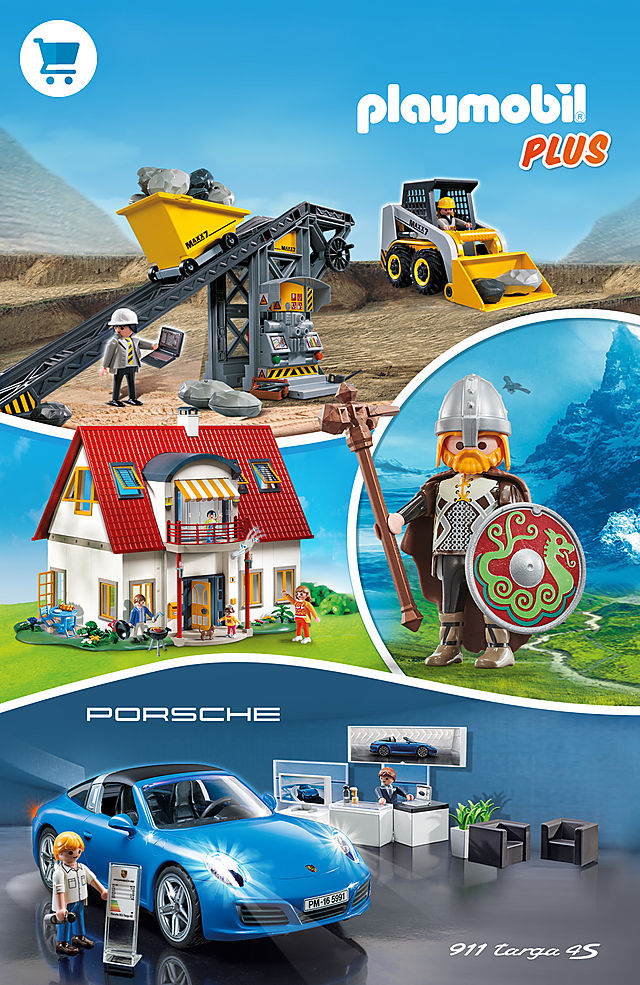 Playmobil Plus - Over one hundred EXCLUSIVE sets like 4279 Suburban House or 5991 Porsche 911 Targa 4S