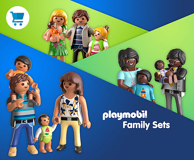 discover the family sets from Playmobil like 9881 Family Pack 1 or 70755 Family Pack 4