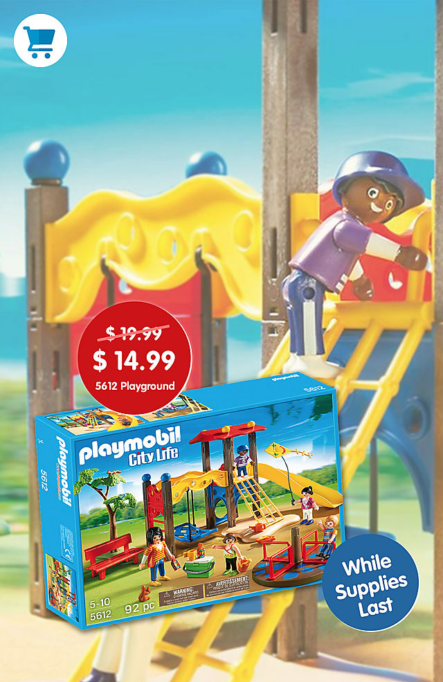 ec1500775e7 SHOP POM 2019 MAY US 1X2. Pick of the Month. PLAYMOBIL Playground