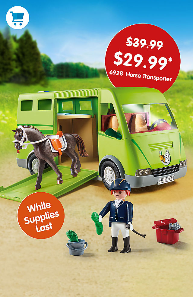 Pick of the month – 6928 Horse Transporter for only $29.99 instead $39.99 - while supplies last