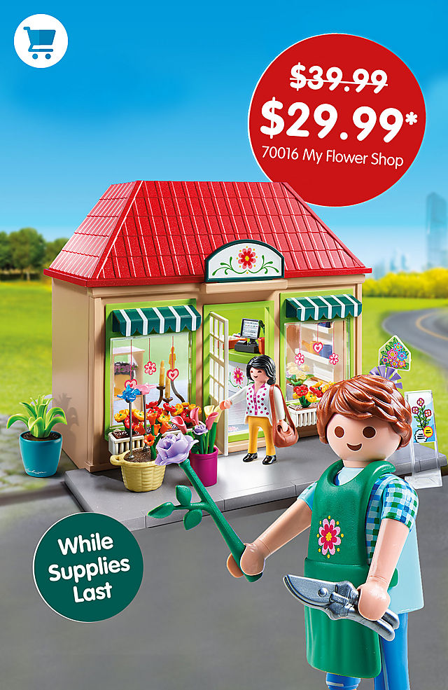 Pick of the month – 70016 My Flower Shop for only $29.99 instead $39.99 - while supplies last