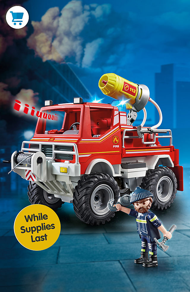 Pick of the month – 9466 Fire Truck for only $33.74 instead $44.99 - while supplies last