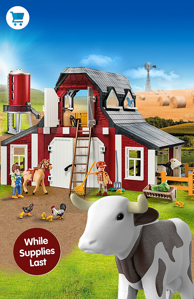 Pick of the month – 9315 Barn with Silo for only $49.99 instead $69.99 while supplies last