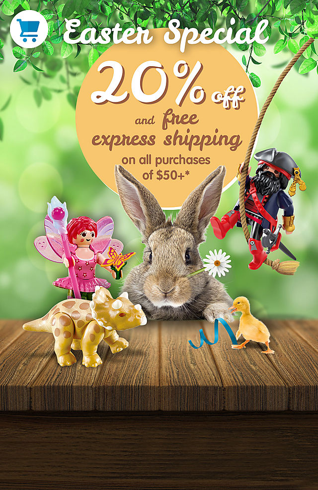 20% off and free express shipping on all purchases of $50+