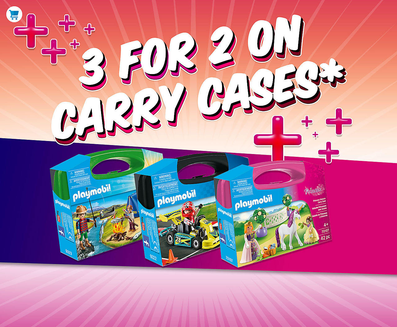 3 for 2 on carry cases