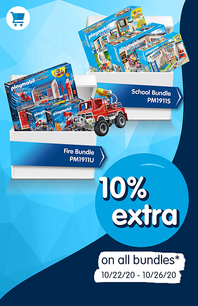 10% extra on all bundles - get the School Bundle PM1911S instead of $149.99 now for $134.99 - SRP $209.97 – from october 22 to october 26 2020