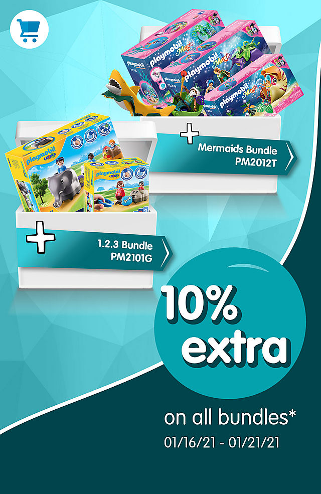 Get an extra 10% off on all bundles like PM2012T Mermaids Bundle  - from January 16 to 21 2021