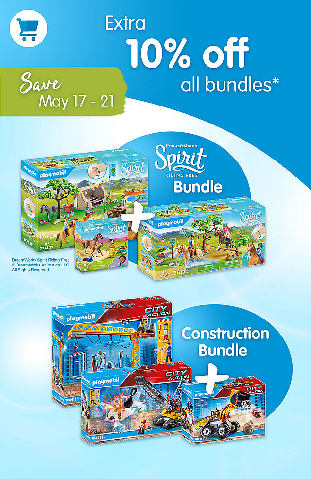 Get an extra 10% off on all bundles like Spirit Outdoor Bundle or PM2104D Spirit summer Camp Bundle - from May 17 - 21 2021
