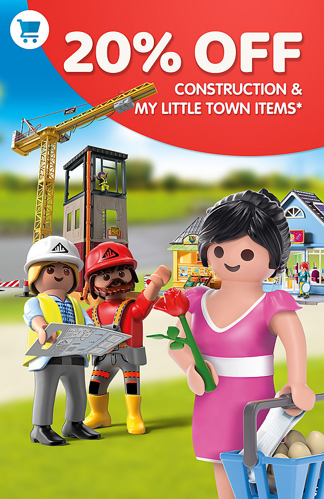 20 % off Construction and My little town items