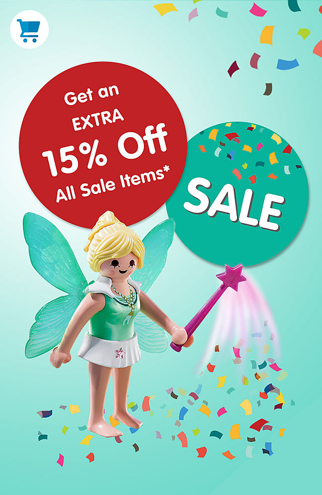 get 15 % additional on all Sale items - exclude Bundles from June 1 to June 7