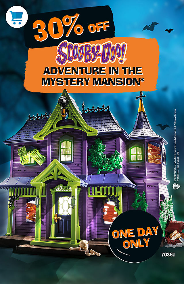 Discover our Deal of the Day 30 % discount on item 70361 Mystery Mansion today only offer ends October 31 2020 at 11:59 PM E.S.T