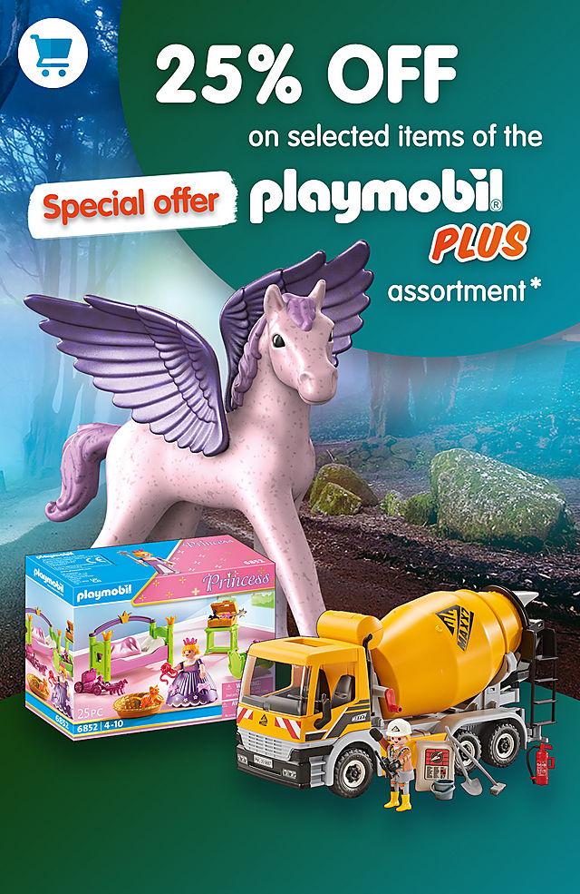 20% de descuento en una selección de Playmobil Plus