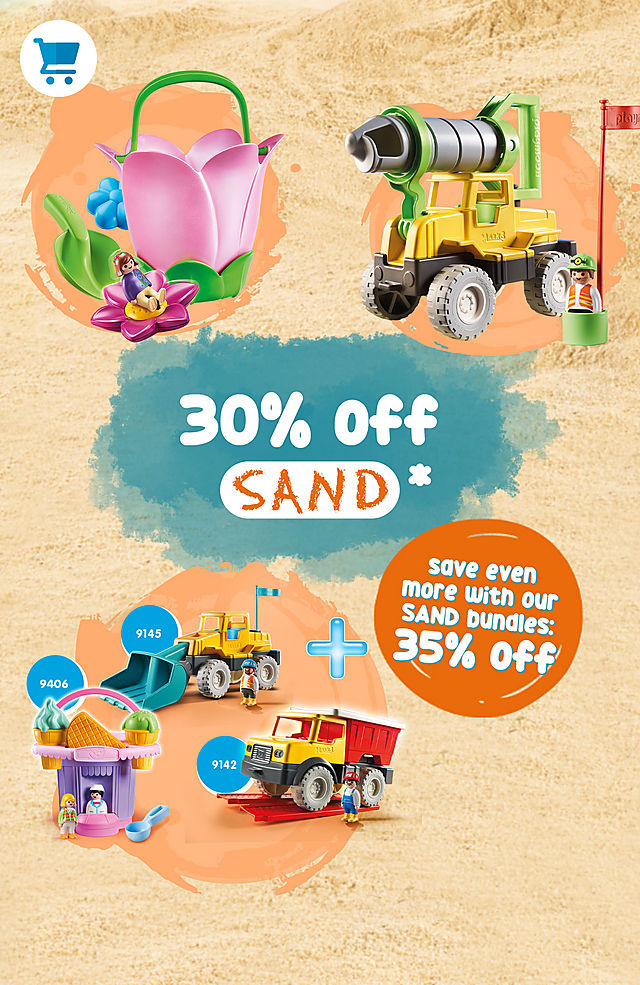 30 % off all sand products - 35 % off the sand bundle - from 7 july to 14 july